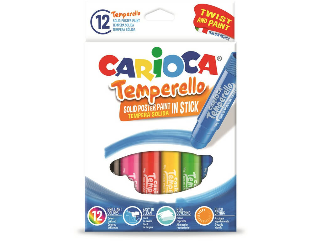 Temperas Temperello 12 Unidades Carioca 42738