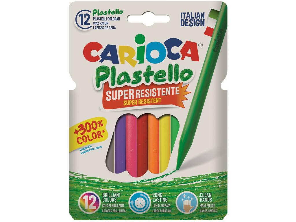 Ceras Colores 12 Unidades Carioca 42711