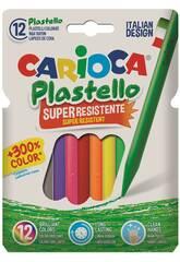 imagen Ceras Colores 12 Unidades Carioca 42711