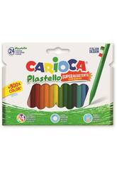 Ceras Colores 24 Unidades Carioca 42880