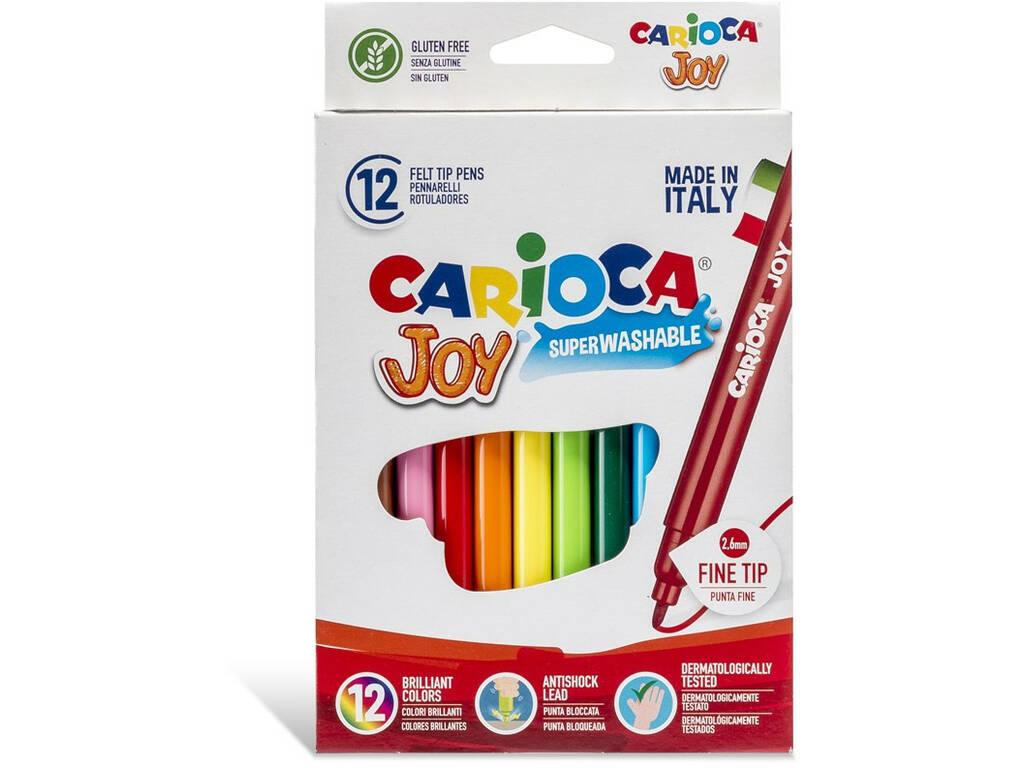 Rotuladores Joy 12 Unidades Carioca 40614