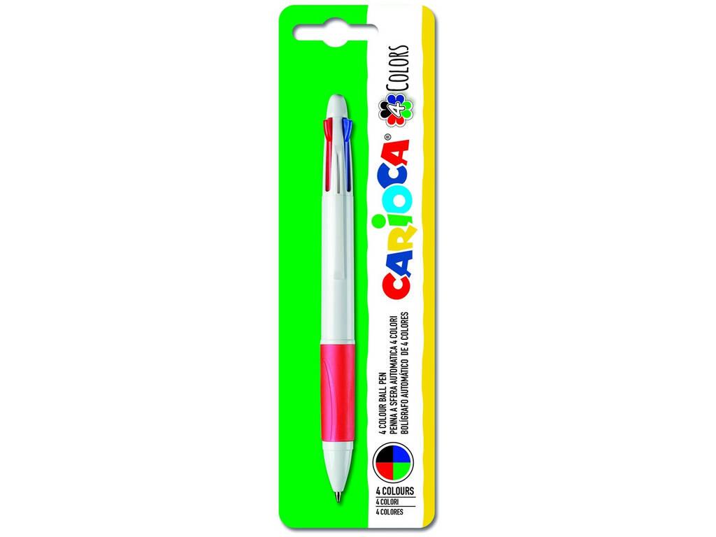 Boligrafo Maxi 4 Colores Carioca 40145
