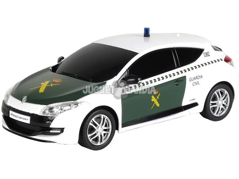 Rádio Controlo 1:24 Renault Megane Guarda Civil Mondo 63331
