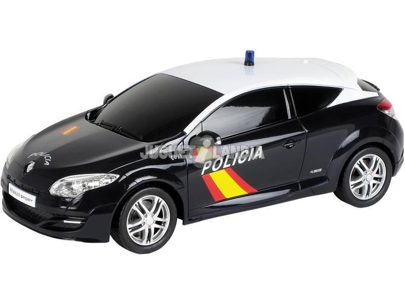 Rádio Controlo 1:24 Renault Megane Polícia Nacional Mondo 63167