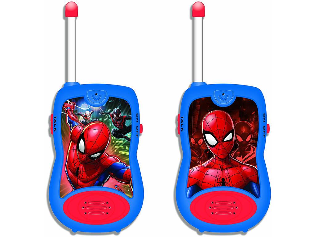 Spiderman Walkie Talkie 100 m. Lexibook TW12SP