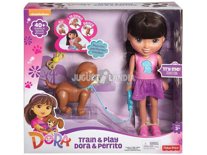 Dora com Cãozinho Mattel CGT65 - 2