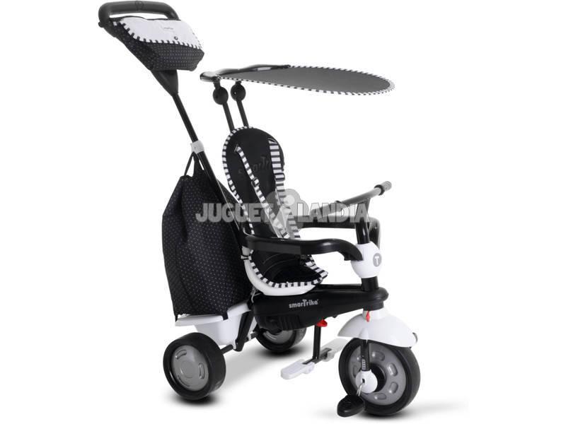 Triciclo GLOW 4 em 1 PRETO SmarTrike