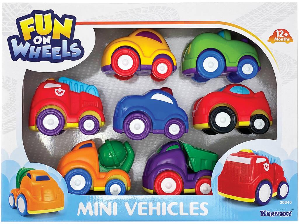 MiniVeículos Carros 9 cm. Keenway 30340