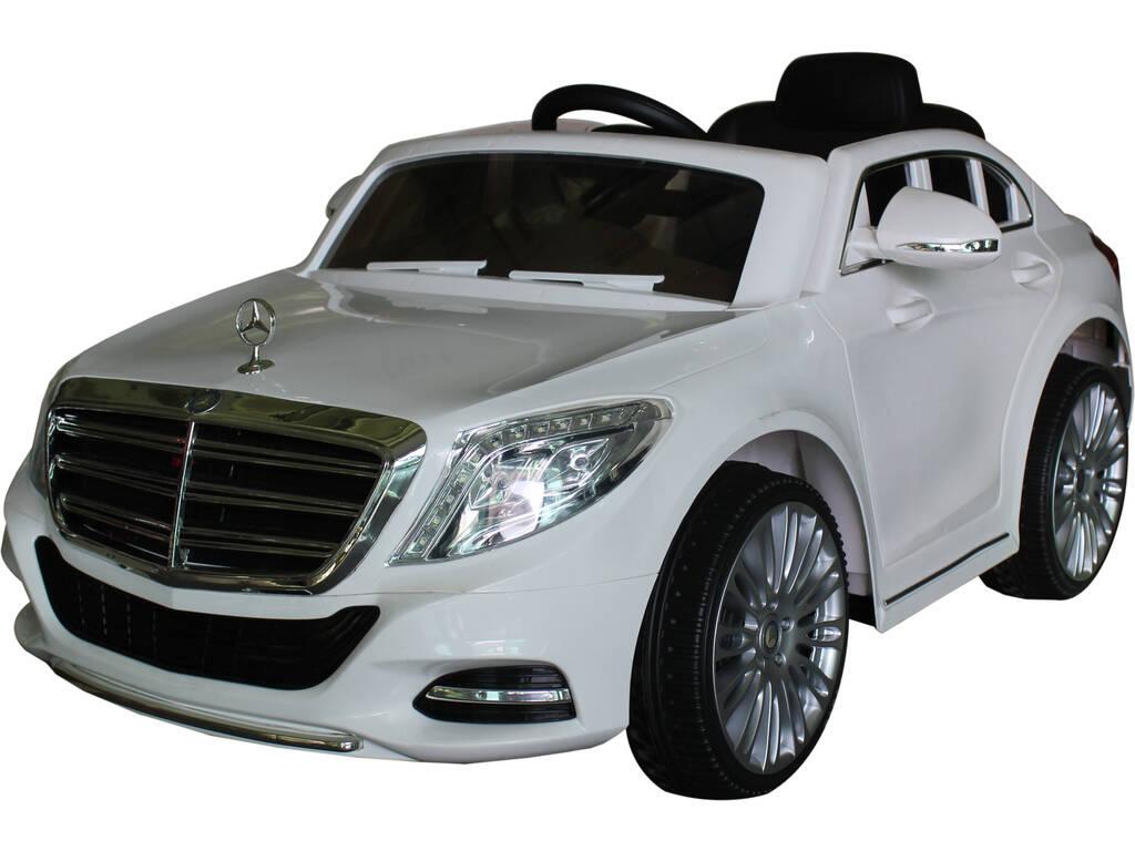 Carro Bateria Mercedes Descapotável 12 V. Rádio Controlo com Musica e Luz