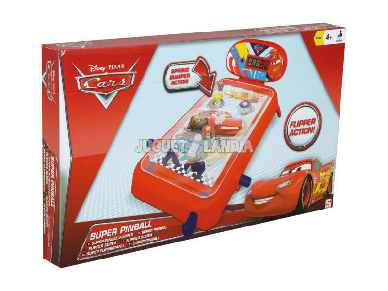 Cars Pinball Sambro DSC7 - 743