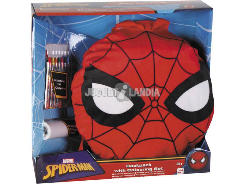 Spiderman Conjunto Escolar Activity Backpack Sambro SPE - 8458