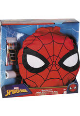 Spiderman Set Scolastico Activity Zaino Sambro SPE-8458