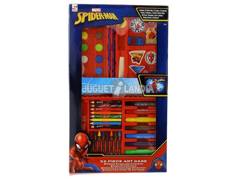 Spiderman Estojo De 52 Peças Sambro SPE - 4219