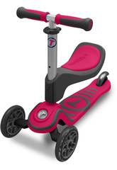 Triciclo Monopattino Rosa 15 Meses Smart Trike 2020200