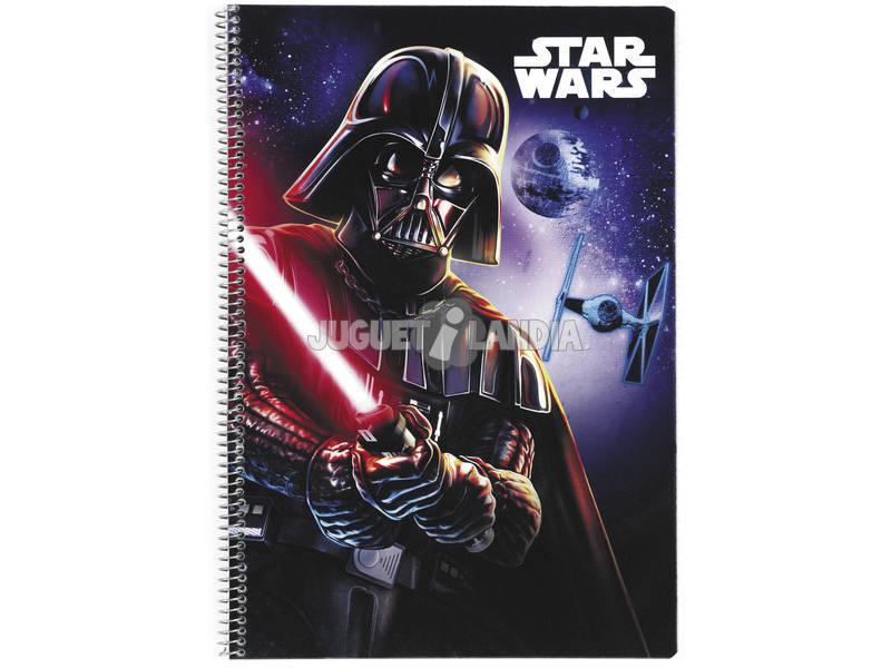 Caderno Capa Dura Star Wars 80 Folhas Safta 511701066