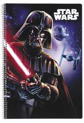 Cahier Couvertures Rigides Star Wars 80 Feuilles Safta 511701066