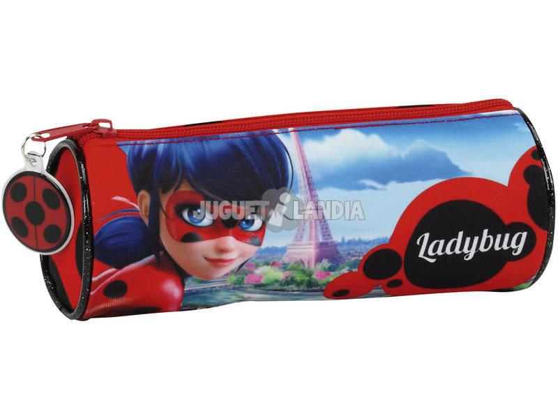 Estojo Portatudo Redondo Ladybug Safta 811702026