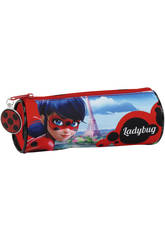 Trousse Fourre-tout ronde Ladybug Safta 811702026