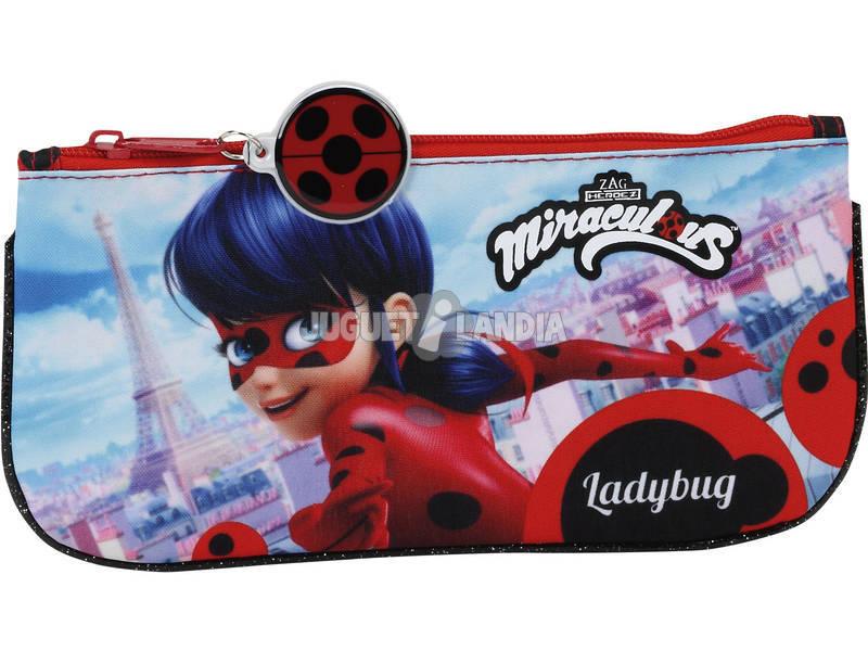 Estojo Portatudo Plano Ladybug Safta 811702028