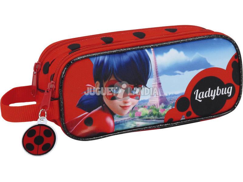 Estojo Portatudo Duplo Ladybug Safta 811702513