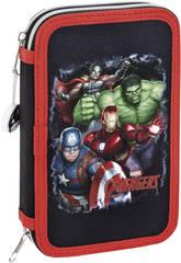 Plumier Doble Avengers 28 Piezas Safta 411734854