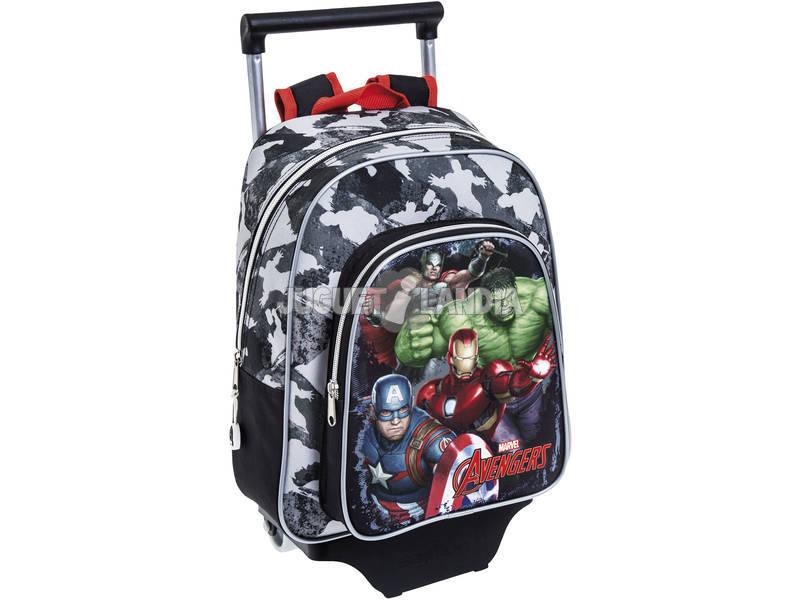 acheter sac dos enfant avec roulettes avengers safta 611734020 juguetilandia. Black Bedroom Furniture Sets. Home Design Ideas