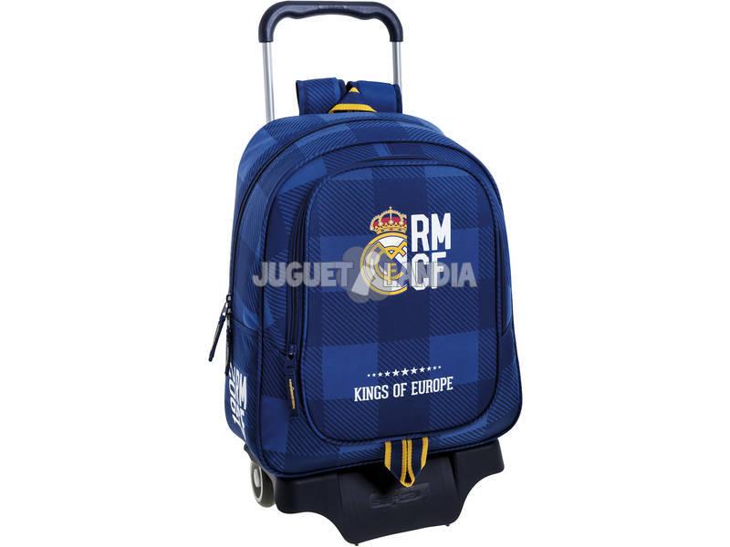 Mochila Azul Real Madrid Safta 611724313