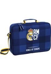 Cartera Extraescolares Real Madrid Azul Safta 611724385