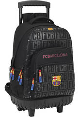 Zaino con Trolley Nero F.C. Barcelona Safta 611725818