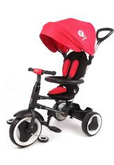 Tricycle Pliable Rito 3 en 1 Rouge 12-36 mois 106 x 106 x 48 cm QPlay S380