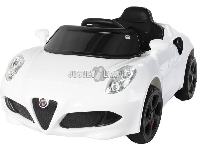 Carro Desportivo Alfa Romeo Bateria 6v.