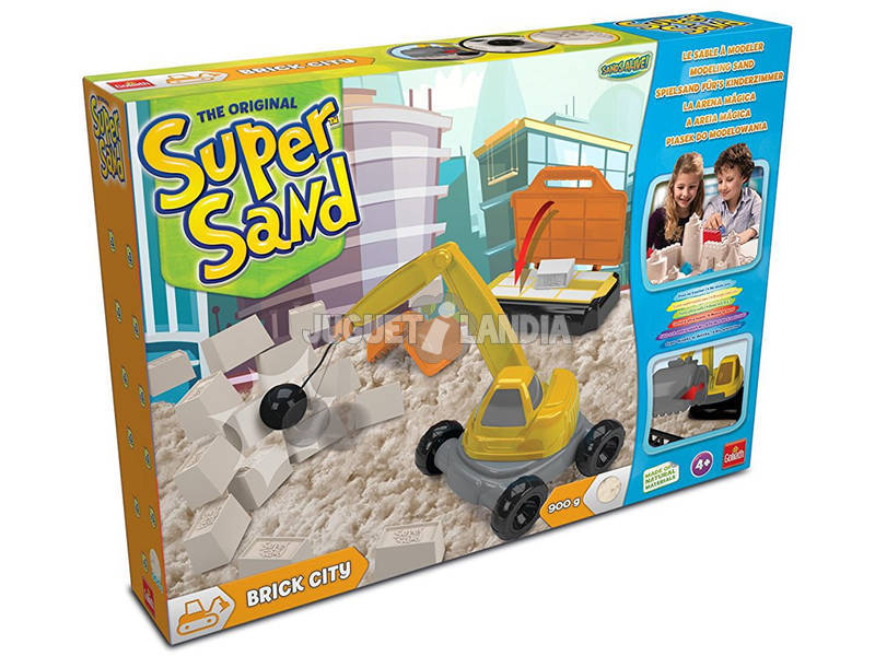 Manualidades Super Sand Cidade e tijolos Goliath 83290