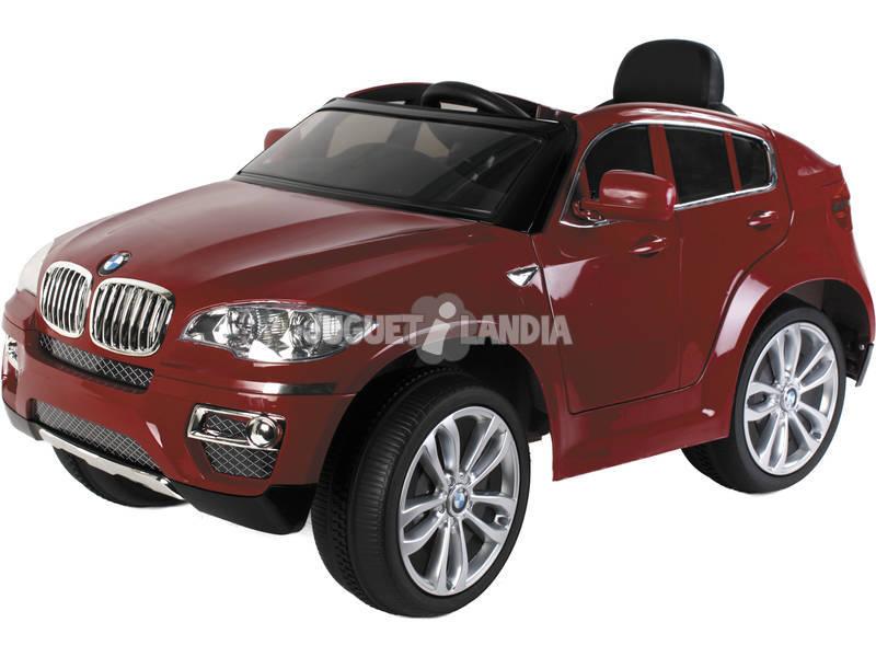 Carro Desportivo BMW vermelho 6v. Com 2 Motores