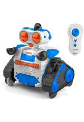 Robô de controle de rádio Ballbot 2 en 1 2.4GHz 13x17x7cm Ninco NT10042