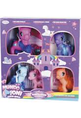 Família de Ponys Pack 5 Peças