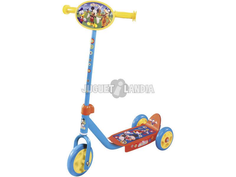 Trotineta 3 Rodas Mickey 54x10.5cm Altura Regulável 3 - 4 anos