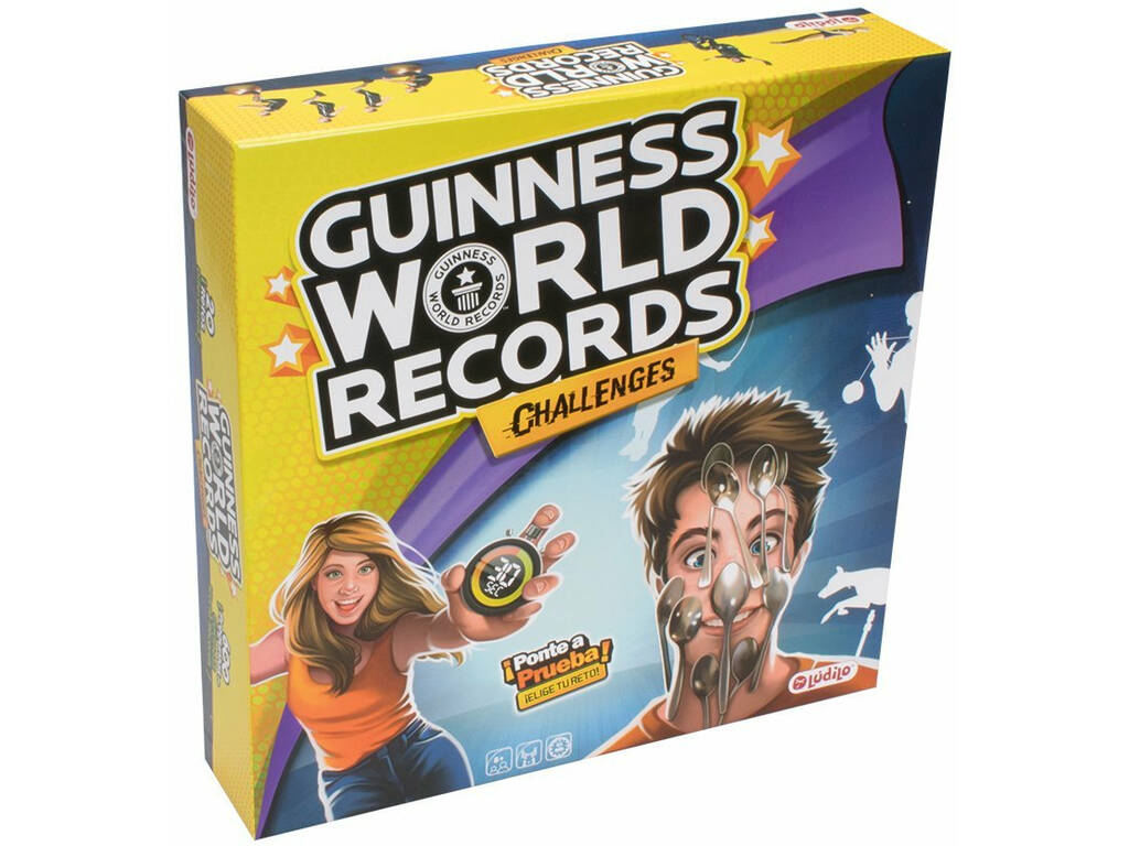 Guinnes World Records Juego De Mesa World Brands 80351 Juguetilandia