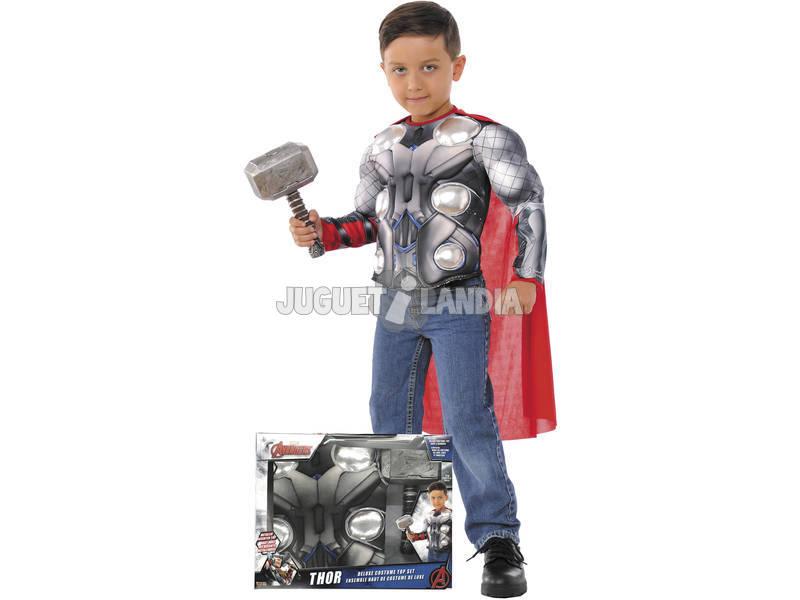 Disfraz Niño Thor Pecho con Martillo Rubies 34104