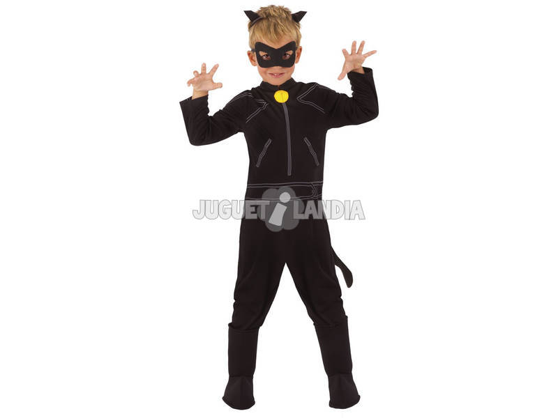 Disfarce Menino Gato Noir Classic T - L Rubies 640904