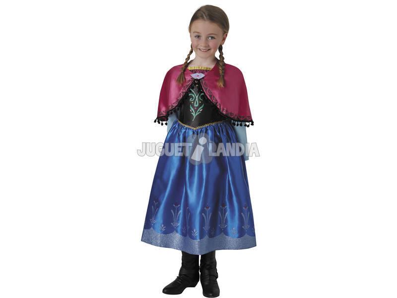 Disfraz Niña Frozen Anna Deluxe T-M Rubies 630573-M