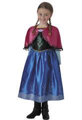 Déguisement Fille La Reine des Neiges Anna Deluxe Taille L Rubies 630573-L