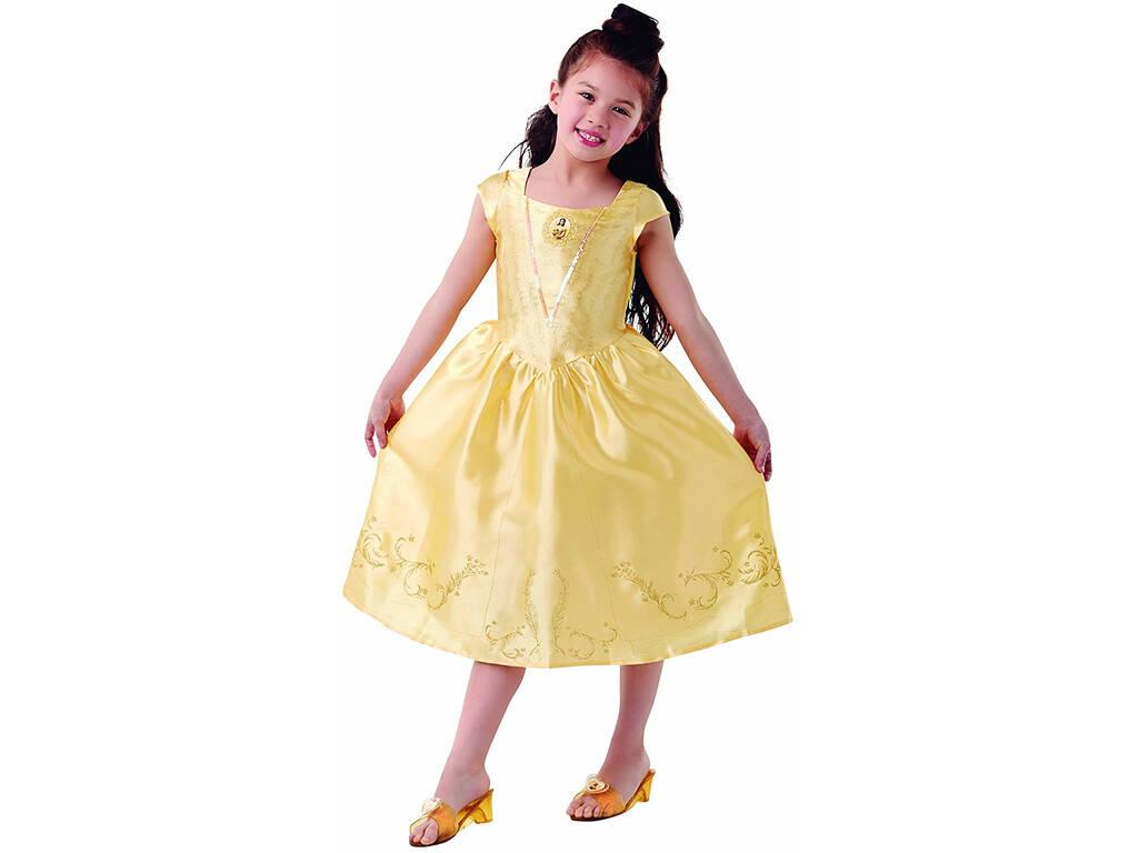 Disfraz Niña Bella Live Action con Zapatos T-L Rubies 640531-L