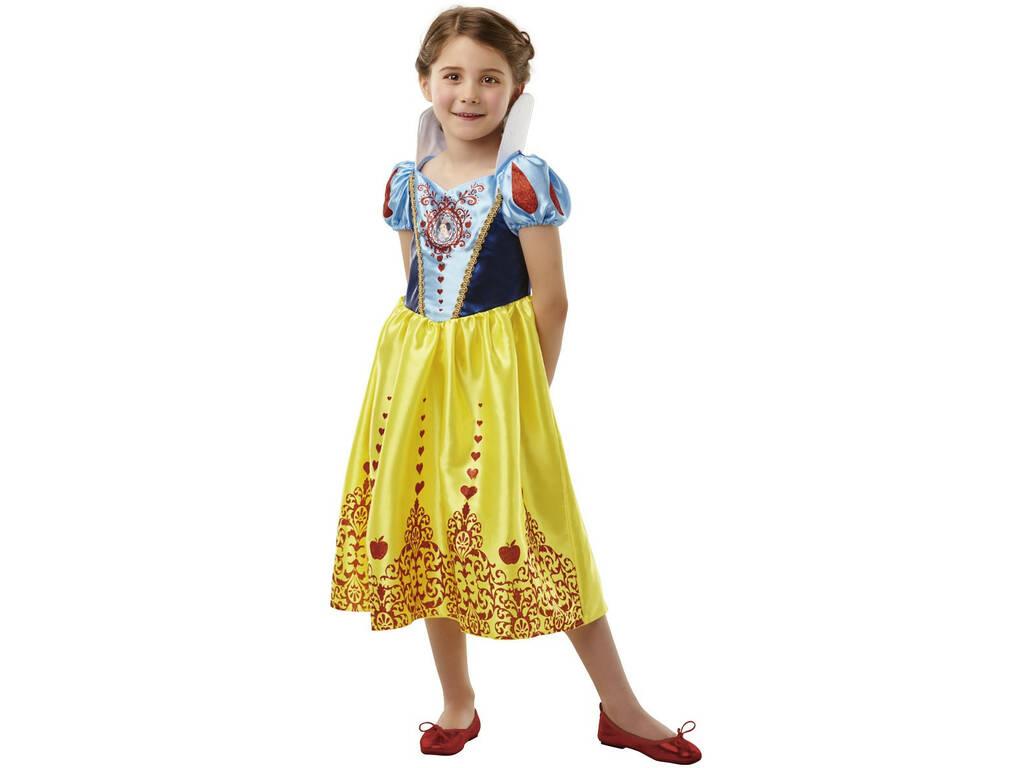 Disfarce Menina Branca de Neve Classic Deluxe T - S Rubies 640712 - S