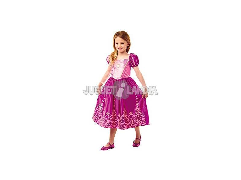 Disfarce Menina Rapunzel Classic Deluxe T - M Rubies 640722