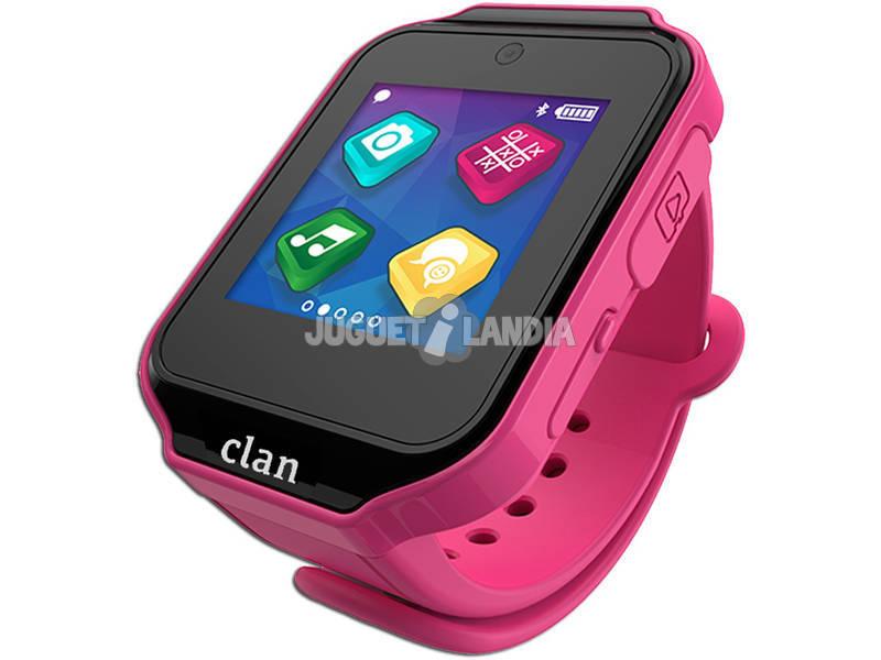 Relógio Smartwatch Clan Pink