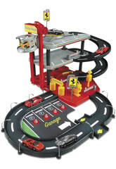 Parking Ferrari con 2 Coches 1:43 Bburago 31204