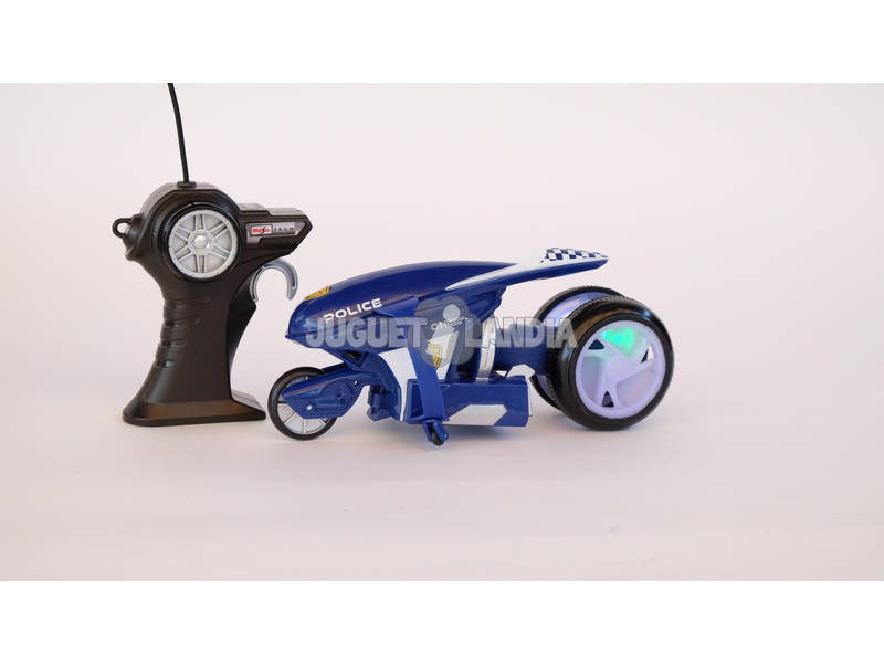 Radio Control Moto Turbo de Policia