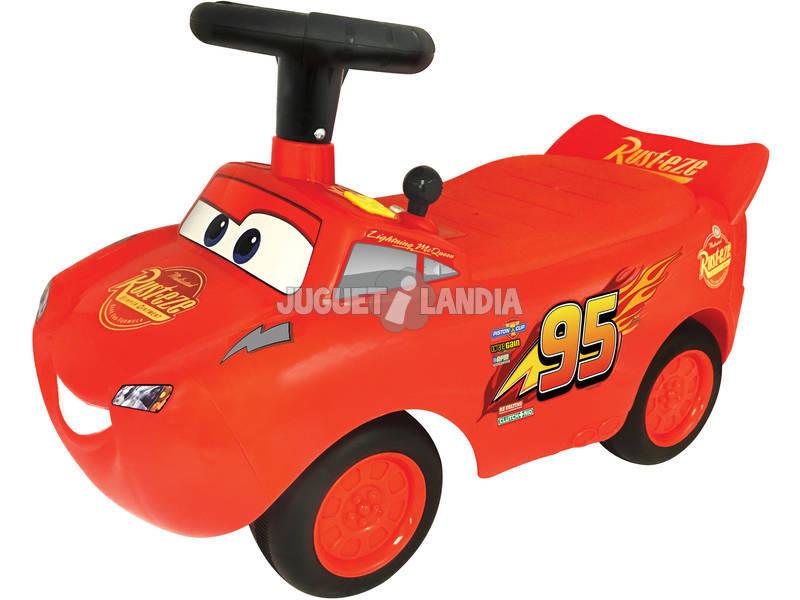 Andador Relâmpago McQueen Cars Atividades Com Luzes e Sons 34x56x29cm 1 - 3 anos