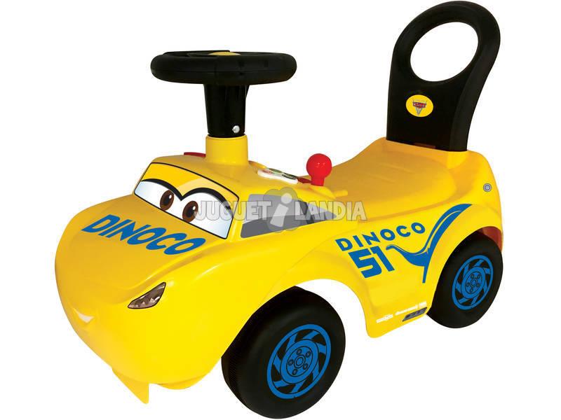 Correpasillos Cruz Cars Con Actividades, Luces, Sonidos y Respaldo 34x56x27cm 1-3 años