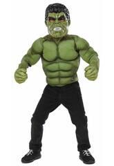 Disfraz Niño Hulk Pecho con Máscara Rubies 34101